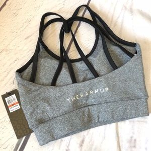 Jessica Simpson the warmup strappy sports bra